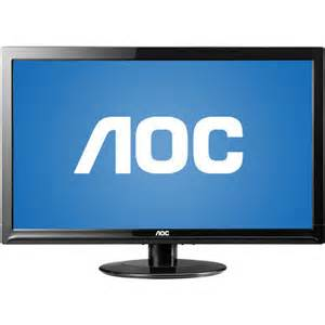 "AOC 24"" LED monitor 12421vwh"